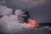 Pele's fist (Ben_Coffman) Tags: bencoffman bencoffmanphotography bigisland drama explosion hawaii kapohobayoceanentry kapohooceanentry lava lavaexplosion mushroomcloud oceanentry pele steam tephra