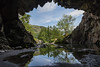 Rydal cave (ola_er) Tags: cave lake lakes district england uk water reflections