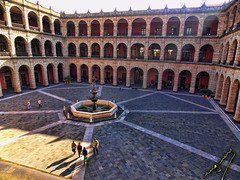 Palace (ingcuevas) Tags: palace palacio architecture fountain people rythm texture morning beautiful elegant big great colonial estructure sombras