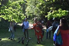 DSC_1954 (photographer695) Tags: wintrade rest recreation hyde park london feeding parakeet birds with justina mutale