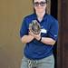 Hannah and the Armadillo (MTSOfan) Tags: lvz lehighvalleyzoo presentation wondersofwildlife education hannah threebandedarmadillo armadillo