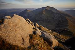View from Cir Mhor [5D4_1295] (GammyKnee) Tags: cirmhor landscape hillwalk arran rugged mountain rocky peak ridge dramatic scotland ayrshire