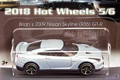 2018_Hotwheels_Fast_Furious_Nissan_R35_GTR (Sigi D) Tags: 2018 hotwheels hot wheels fast furious diecast moviecar sigid nissan r35 gtr skyline brian oconner five fastfive furious6