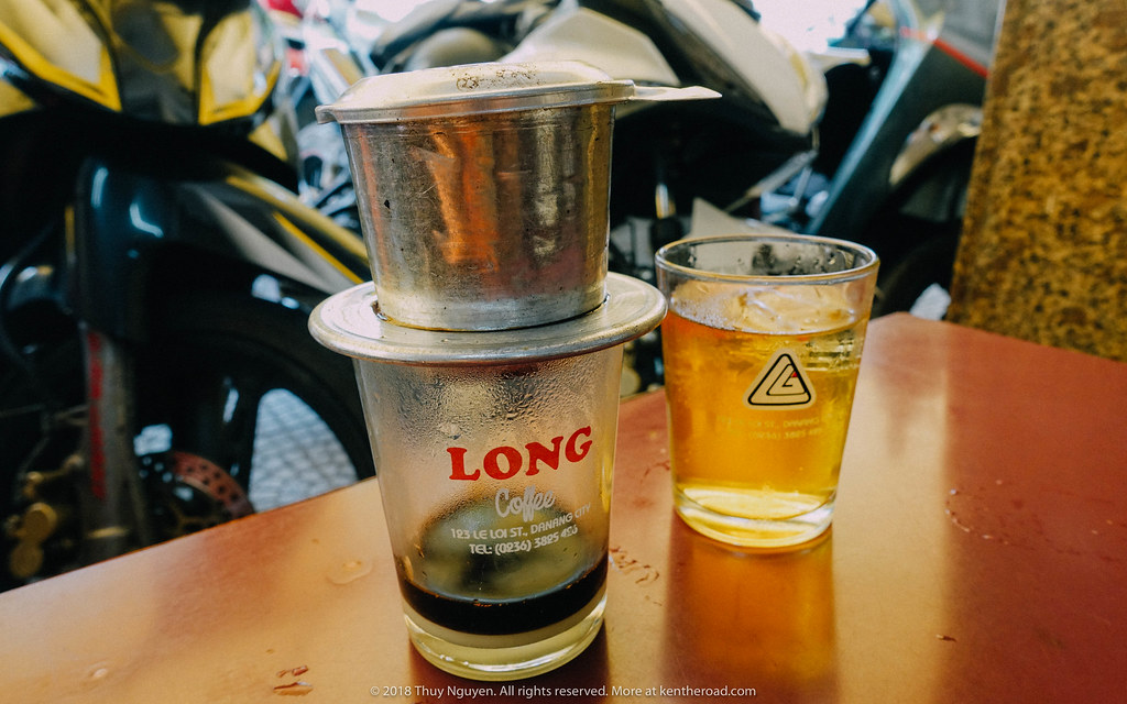 Đà Nẵng nổi tiếng với cà phê Long