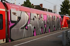 ZAK AHQ Wholecar (rebecca2909) Tags: ahq zak wholecar spraypaint vandal deutschebahn db trains train graff graffiti cologne köln germangraffiti