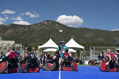 180604-D-DB155-006 (DoD News Photos) Tags: dodwg18 2018dodwarriorgames dodwarriorgames warriorgames woundedwarriors colorado coloradosprings dedication triumph overcomingadversity fortitude sports track field airrifle marksmanship wheelchairbasketball sittingvolleyball powerlifting cycling bicycling archery swimming rowing indoorrowing unitedstates