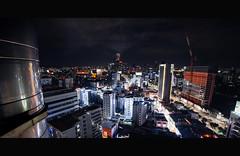 Industrial Smoke (Berdnik Dmitriy) Tags: seoul south korea night landscape tower sky sunset urban cityscape skyline city building dusk street southkorea dongdaemun dongdaemunplaza ddp lifestyle streetstyle namsan skyscraper