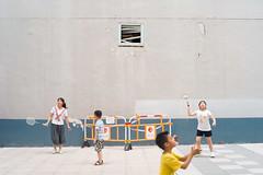 (AAGCTT) Tags: 50mm hongkong kowloon summer kids playground street