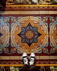 Basílica Santísimo Sacramento, Retiro. (Ramona Anitsuga) Tags: argentina buenosaires retiro basilica church iglesia piso floor tiles mosaic mosaico pisoscalcareos capitalfederal