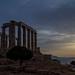 Temple of Poseidon sunset-1