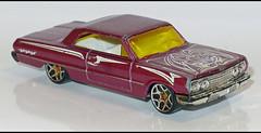 63' Chevy Impala (3861) HW L1170213 (baffalie) Tags: auto voiture miniature diecast toys jeux jouet ancien vintage classic old car coche us custom muscle