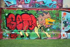 Leon (mkappweiler) Tags: europa wien europe vienne vienna outdoor zeichen graffiti streetart donaukanal lion löwe