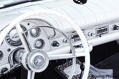1957 Thunderbird (robtm2010) Tags: mystic connecticut usa newengland canon canont3i t3i car automobile auto motorvehicle vehicle classic classiccar ford thunderbird tbird 1957