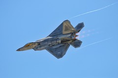 Gunfighter skies 2018 (Who Jets) Tags: f22 raptor airshow gunfighterskies canon 70d sigma 150500mm afterburner