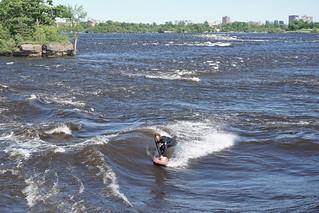 Surfing in Ottawa!