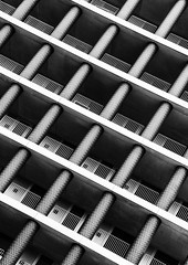Gridiron (Joseph Pearson Images) Tags: building architecture abstract london gridironbuilding blackandwhite mono bw davidchipperfieldarchitects onepancrassquare
