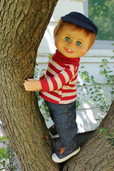 Happy World Doll Day! (tamsykens1) Tags: hasbro that kid interactive talking boy doll red hair 1967