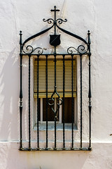 VENTANA CON REJA (bacasr) Tags: ventana iron spain andalucía old grille antiguo window reja hierro forja españa forge