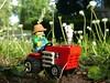 MMB Tractor (captain_joe) Tags: toy spielzeug 365toyproject lego minifigure minifig moc car auto trecker tractor series15 farmer mmb