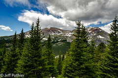 Trees and Peaks (vlxjeff) Tags: nikon d7000 colorado forest trees mountains beauty beautiful sky snow