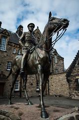 Douglas Haig statue (R4yak) Tags: edinburgh pentax scotland ecosse edinburghcastle greatbritain