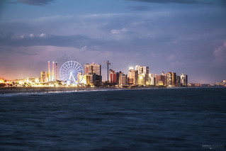 Evening Cityscape - Myrtle Beach (South Carolina)
