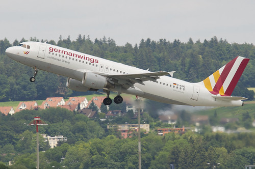 Germanwings Airbus A320-211; D-AIQC@ZRH;14.06.2018