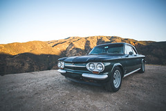 Spyder (Shutter Theory) Tags: spyder corvair monza chevrolet chevy lakehughesroad angelesnationalforest classic morninglight themorningcommute castaic elizabethlakecanyon turbocharged aircooled boxer 20mm