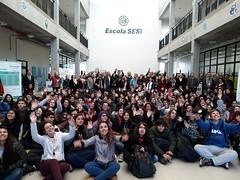 08/06/18 - Visita à Escola Sesi/Senai de Gravataí/RS