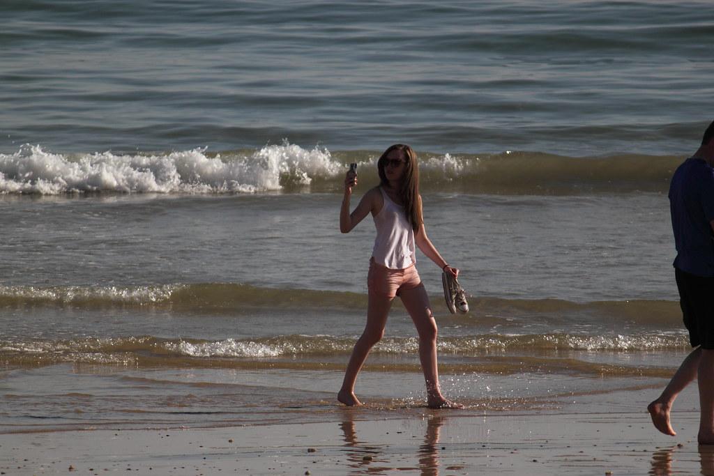 Auto-retrato, Praia da Falésia. N.º 7610 — © 2015