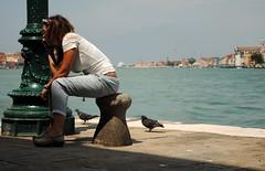 Barista veneziana in pausa 2 (stella.iloveyou) Tags: travel viaggiare attimi moments lifearoundme vitaintornoame