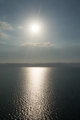 Dead Sea (__Alex___) Tags: dead sea mer morte travel trek nature view sun shoot canon 5d markiii jordan jordanie reflection 1635f4is flare soleil
