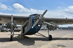 1929 Ford Tri-Motor (Adventurer Dustin Holmes) Tags: 2018 1929 ford trimotor aviation aircraft airplane plane old historic antique nc8407 propeller
