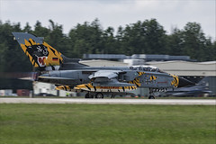 Panavia Tornado ECR - 14 (NickJ 1972) Tags: nato tiger meet poznan 2018 ntm panavia tornado ecr 4657 hardtobehumble aviation