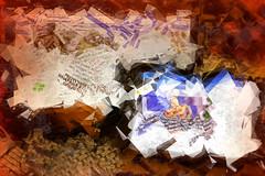 The Daily Muddle (Karen Kleis) Tags: socialmedia news abstract muddle incoherent arteffects texture sharingart netartii artdigital crazygeniuses hypothetical shockofthenew awardtree