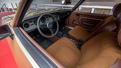 Ford Capri interior, Boxtel, 20180602 (G · RTM) Tags: classicpark boxtel fordcapri interior cloth seats fabric fabrics museum