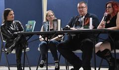 Writers Panel (Adventurer Dustin Holmes) Tags: 2018 people extremicon strobertmo saintrobertmo strobertmissouri missouri saintrobertmissouri jaebyrdwells writer writers author authors williamschlichter