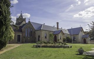 St Mary's Catholic Church, Murrumburrah NSW, circa 1868 - SEE BELOW