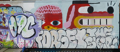 Graffiti, Homerton. (piktaker) Tags: london londone9 homerton art wallart urbanart streetart spraypaint painting graffiti