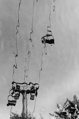 Above the river (albi_tai) Tags: 2017 lussenburgo luxemburg vianden seggiovia riflesso reflex acqua water fiume river specchio deformazione albitai d750 nikon nikond750 neltunneldelbn bianco nero bianconero biancoenero bn bw blackwhite black white
