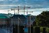 Construction over Stockholm (orkomedix) Tags: stkhlm canon 6d 24105l city sweden sky building flags crane