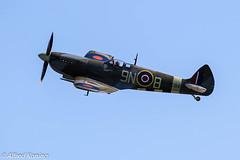 Spitfire Mk. XVIE, TE-184/B-9N (Alfred Koning) Tags: eppopoznańlawica gebruiker historischevliegtuigenvliegend locatie poznańairshow spitfirelfmkxviete184 supermarinespitfire