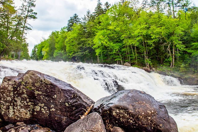 Adirondack Mountains - Buttermilk Falls - May 31, 2018