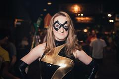 Ms. Marvel at ColossalCon 2018 [02] (EricReplied) Tags: strobist ohrachelcosplay wife rachel pretty beautiful flash colossalcon ohio marvel msmarvel cosplay costume nikond750 yongnuo