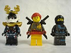 70651 - Figs 2 (fdsm0376) Tags: lego review set 70651 ninjago nya lloyd skylor harumi samurai x throne room