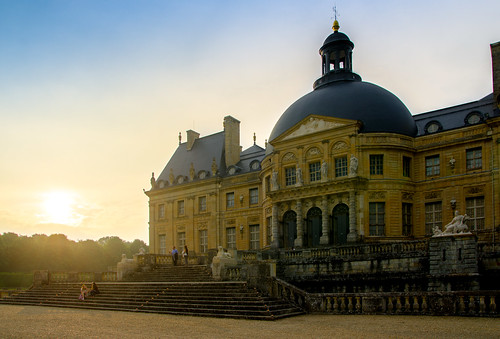 Sunset Château, Maincy, 20180609