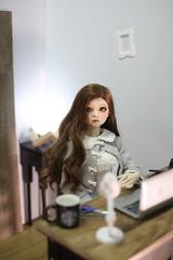 1/3 Room box (Ing) (Kimsora) Tags: roombox miniature dollhouse