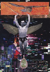 strength - fake it till you make it (ms. neaux neaux) Tags: dawnarsenaux analog collage illustration strength universe vintagematerial