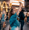 """Self Love 2"" (36D VIEW) Tags: street a7rii portrait mirrorless a7rm2 tamron 45mm timessquare nightlife"