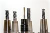 Black Gray Drill Bit Set - Credit to http://homedust.com/ (Homedust) Tags: drill drilling heads metal power tools